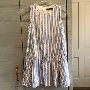 Zara striped cotton dress sz XS